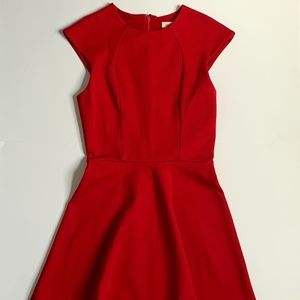 Urban Outfitters Red Dress with Open Back Size XS